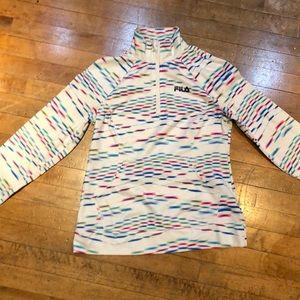 Fila Half zip pullover jacket